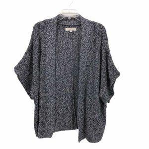 Ann Taylor Loft Womens Cardigan Sweater Blue Sz S